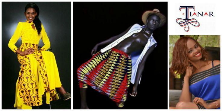 Robertinah Nzula, founder of The Tianar Models (Kenya)