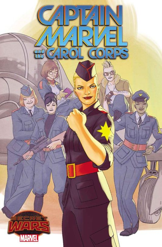 Captain Marvel and the Carol Corps, by Kelly-Sue DeConnick, Kelly Thompson & David Lopez