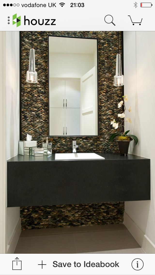Floating Vanity Though I Would Want Open Storage Below