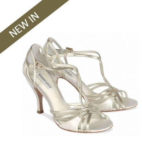 New Benjamin Adams Preston 1920s Wedding Sandals | Free UK delivery |