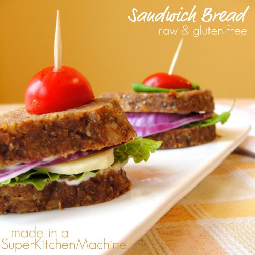 Raw bread recipe - I want to try this, but I don't have a Thermomix (worth a shot anyway!)