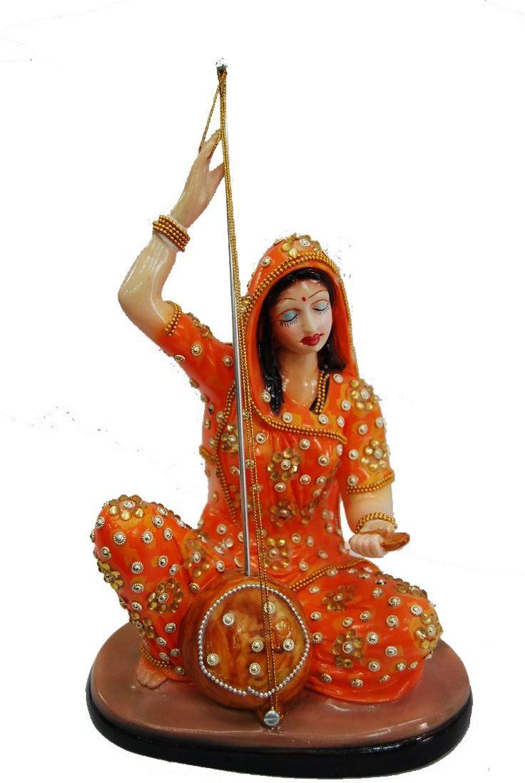 Meera Bai playing the veena Price: 900INR