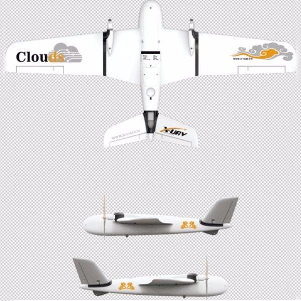 X-UAV Clouds 1880mm Wingspan EPO FPV Aircraft RC Airplane KIT