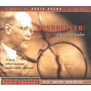 Bonhoeffer: The Cost of Freedom - Focus on the Family Radio Theatre audiodrama on CD  -    Can't wait to listen to this one.