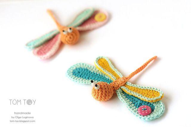 1000+ images about Crochet- Dragonfly on Pinterest Free ...