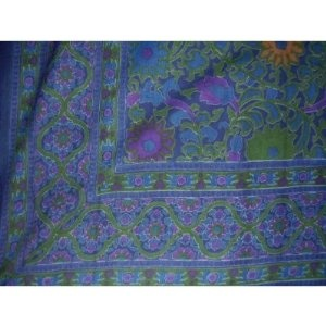 Indian Bedspread ? Cotton Sunflower Print --- http://www.pinterest.com.tocool.in/35