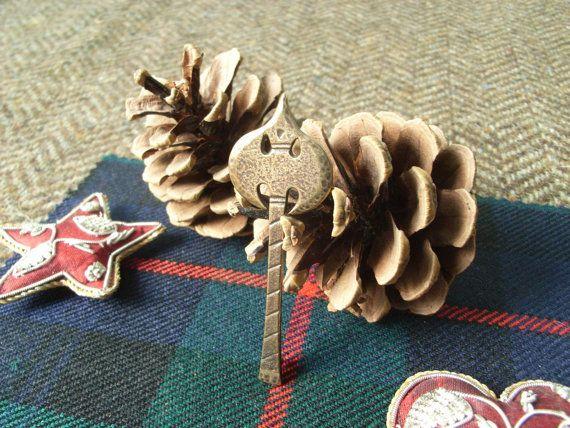 Bronze Scottish Kilt Pin   Battle Axe. by CallumKiltsJewellery