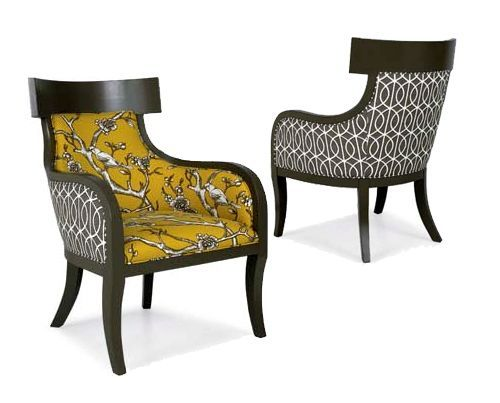 Laines Iliad Chair Created By Kansas Citys Design Connection Inc Laine Offers Endless Fabric Choices And Combinations