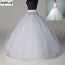 Hoge Kwaliteit 8 Lagen Tulle Geen Hoop Witte Petticoat Jurk Hoepelrokrok Accessoires(China (Mainland))