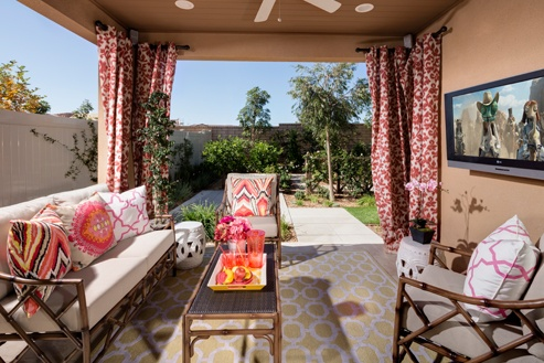 Cool space. Hot trend. #outdoorroom #home