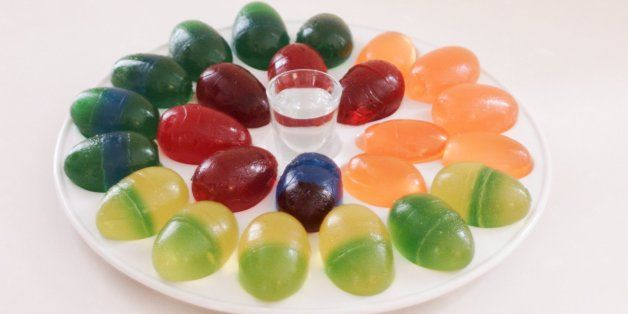 Make Your Easter Boozy With Homemade Jello Egg Shots