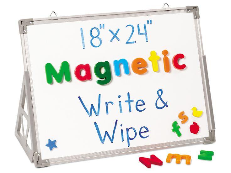 "18"" x 24"" Magnetic Write & Wipe Board"