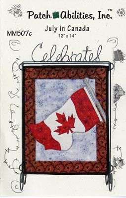 - Monthly Mini Patten - July In Canada - Hamels Fabrics & Quilting