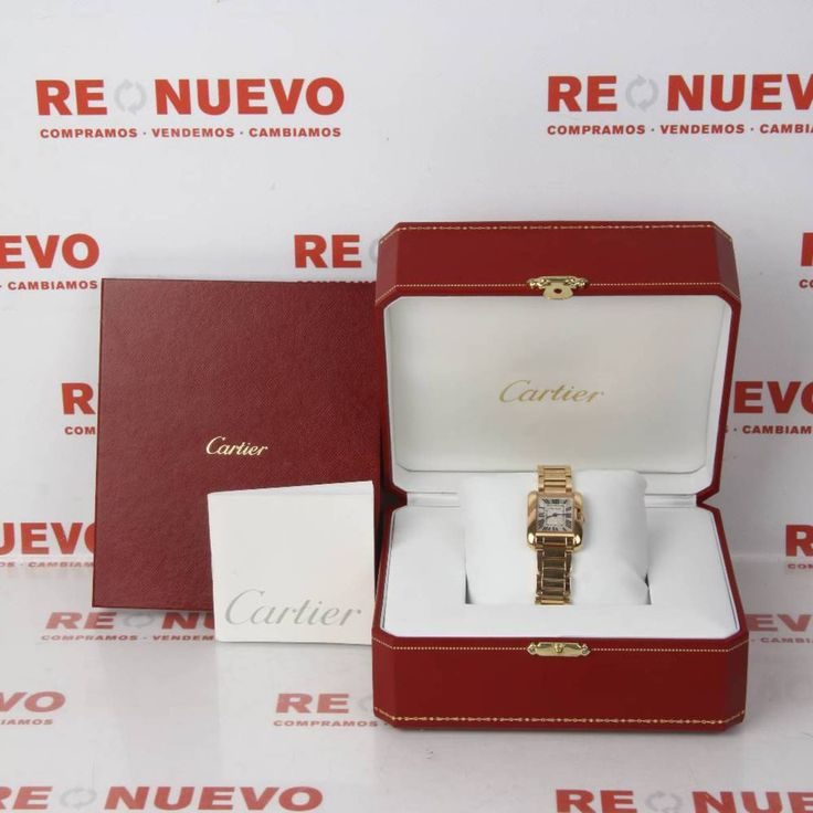 Reloj CARTIER TANK ANGLAISE de oro rosa de 18 ktes E274530   Tienda online de segunda mano #Cartier #Reloj #Oro