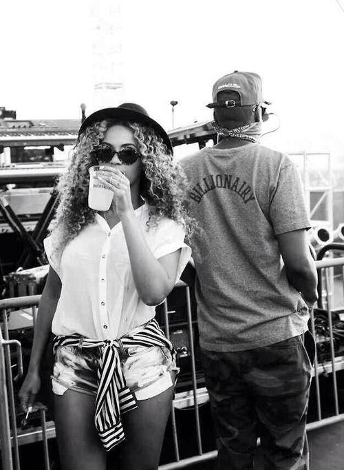 Beyonce and Jay-z at Coachella 2014
