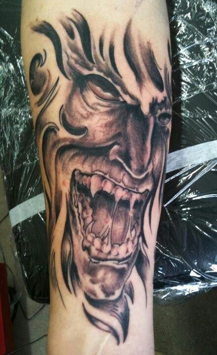 Down With My Demons Tattoo: 38 Best Evil Gargoyle Tattoos Images On Pinterest