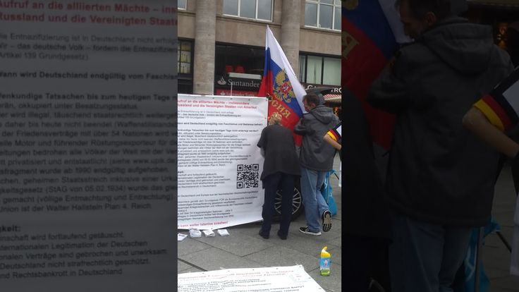 www.staatenlos.info klärt auf Interesse von d.Medien an der Demo in Köln