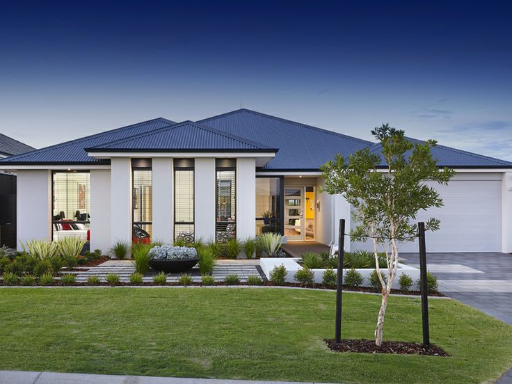 Amazing U0027The Fusionu0027 Elevation. WINNER Of U0027Best Display Home In Price Category  $210,000