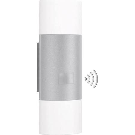 Steinel L 910 LED Sensorleuchte Up-/Downlighter Außenleuchte Silber