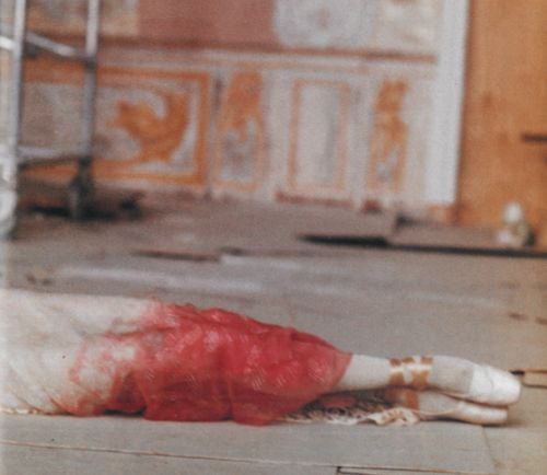 St Petersburg 1997 - A Russian Ballerina photographed by Deborah Turbeville