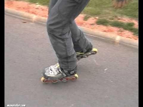 Tutorial Patinaje en Línea. Giros Cruzados. How to Rollerblade: Crossove...