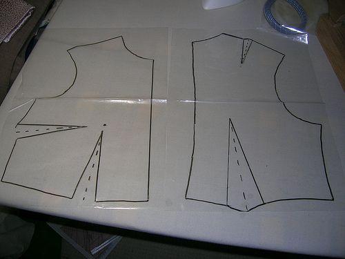 molde plano a partir dede modelo 3D
