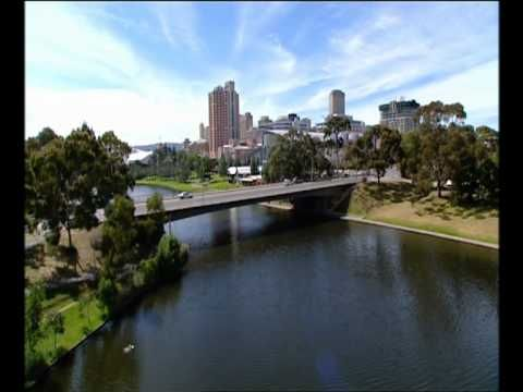 Adelaide City over Torrence River. http://www.ozehols.com.au/holiday-accommodation/south-australia/adelaide/adelaide-city #VisitAdelaide #VisitSA #VisitAustralia