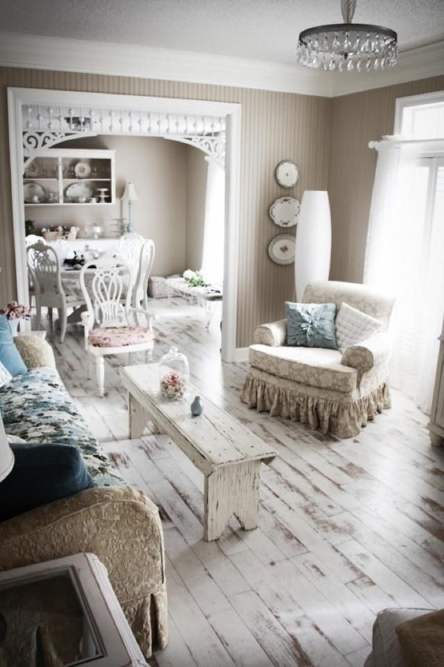 love the painted wood floors - Best 25+ Distressed Wood Floors Ideas On Pinterest Wood Floors