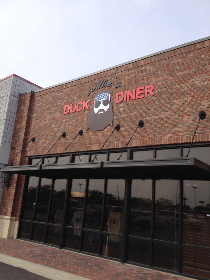 No way. @Kelly Teske Goldsworthy Lewis  Willie has a diner now? Willie's Duck Diner, West Monroe