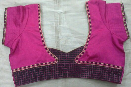 Blouse with machine embroidery 91 9866583602 whatsapp no 7702919644