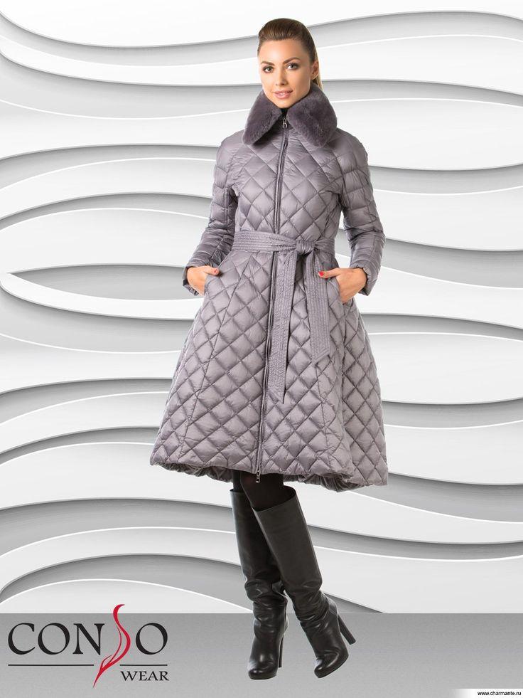 Купить Пуховик женский WLF1502 в интернет-магазине Charmante.ru