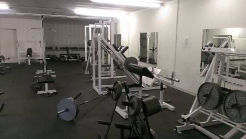 1 Hammer Strength Leg Press   1 Leg ext   1 leg curl   1 lat pulldown   1 seated row   1 chest press   1 pec deck   1 shoulder press   1 bicep curl   1 set cable crossover   1 smith machine   1 roman chair   1 dip/ab   1 hyper ext   1 oblique flexor   2 olympic fat bench   1 olympic incline   1 olympic shoulder   1 standing chest press   1 super squat   1 power rack   3 adjustable bench   6 plate trees   3 olympic bars   set of dumbbells  (15lb-100lb)   1 two tier dumbbell rack   3000 lbs of…