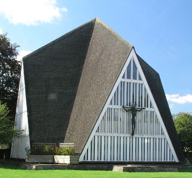 Church of St John Broadbridge Heath, Sussex, Great Britain