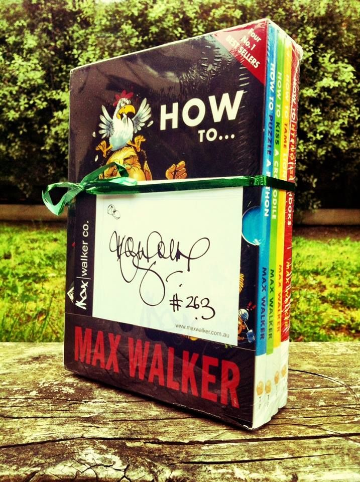 Gift pack of 4 of the most popular books head off as a radio competition prize ...