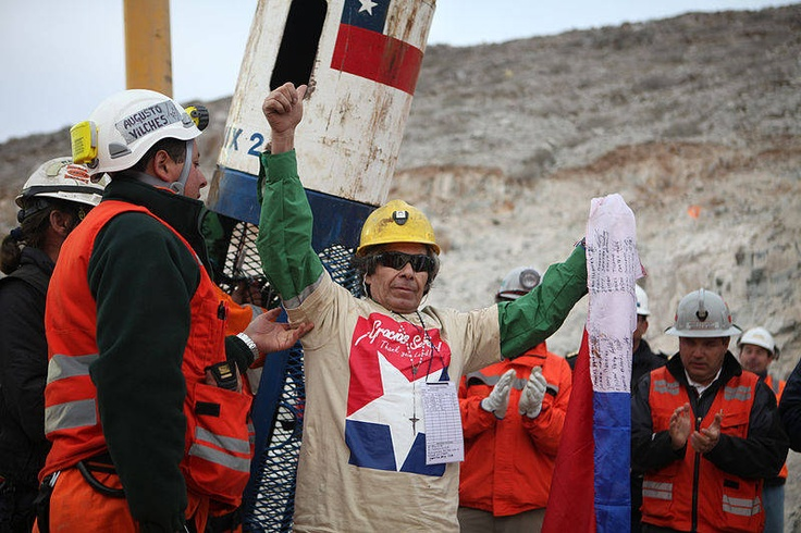 All 33 Chilean Miners Rescued: Government of Chile Against overwhelming odds, all 33 workers at a mine in Chile that had collapsed in 2010 were finally rescued after spending 69 DAYS underground. Some of the miners said they prayed urgently to survive the ordeal, and many people worldwide watching television coverage of the rescue operation also prayed for their survival.