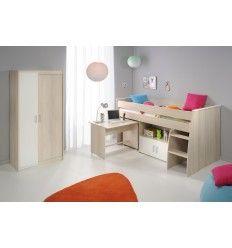 17 best images about lit combin pour enfant on pinterest taupe lit mezzanine and places. Black Bedroom Furniture Sets. Home Design Ideas