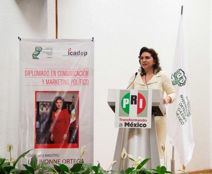 Pide Ivonne Ortega combatir la feminización de la pobreza