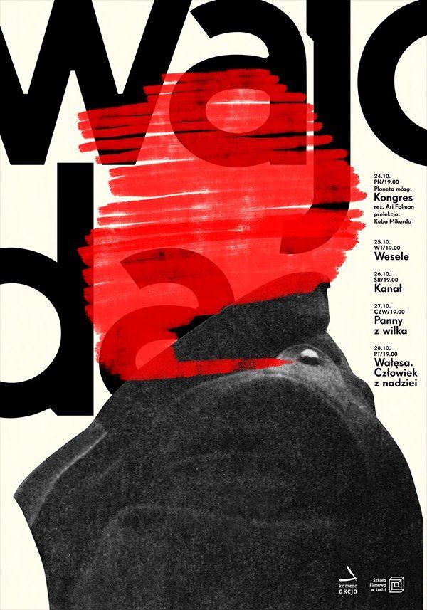 """""""Wajoda"""", Congress Political Poster, (2016), Graphic Design by Krzysztof Iwanski (b. 1985, Polish)."""