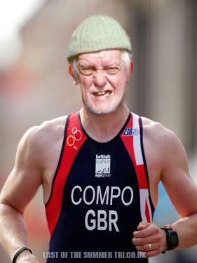 Compo in team GB for triathlon?!