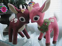 Free Cute Fawn Plushie Toy Sewing Pattern / Template