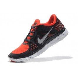 Nike Free Run+ 3 Herresko Mørkgrå Oransje | billig Nike sko | Nike sko norge | kjøp Nike sko | ovostore.com