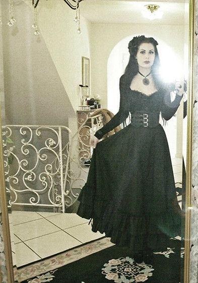 Big Belt X D, Bustle Skirt, Black Roses, Black Victorian Necklace, Bolero Jacket And Blouse