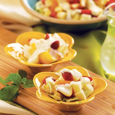 Salad Buah Krim Keju