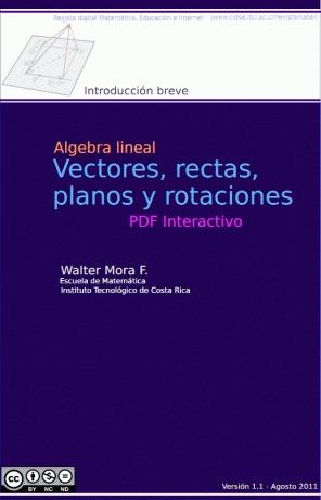 Algebra Lineal: Vectores, Rectas y Planos