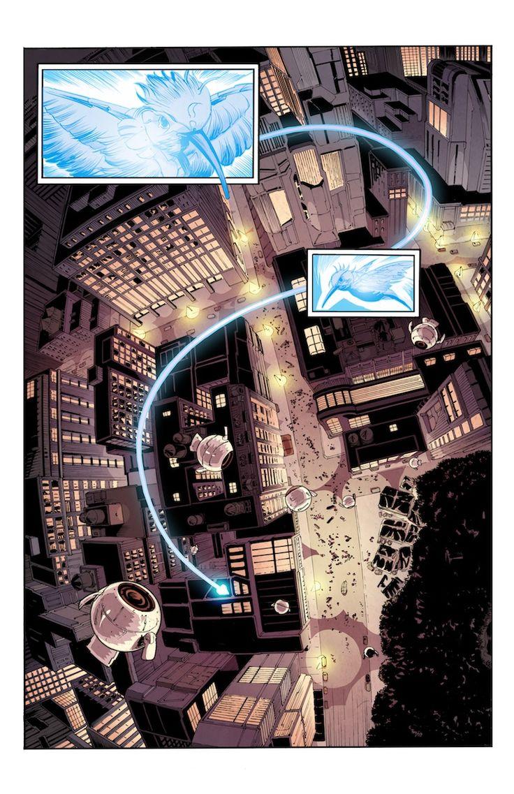Bleedback comic book page 01 #Bleedback #comicbook #scifi