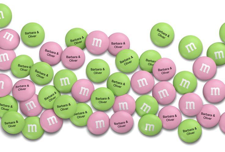 My M&M's – Personalisierte Schokoladen-Geschenke konfigurieren