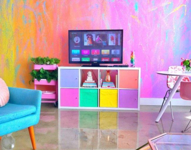 El piso más colorido de Instagram se convierte en viral