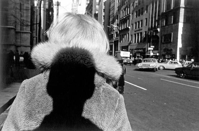 Shadow, New York City, 1966 • Lee Friedlander