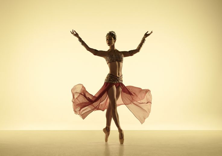 Robyn Hendricks poses as the gorgeous Nikiya in the passionate La Bayadère. Photo by Georges Antoni.