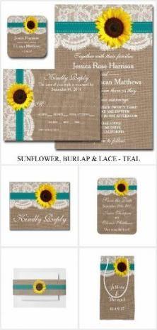 Wedding Invitations Rustic Sunflower Save The Date 55+ Ideas